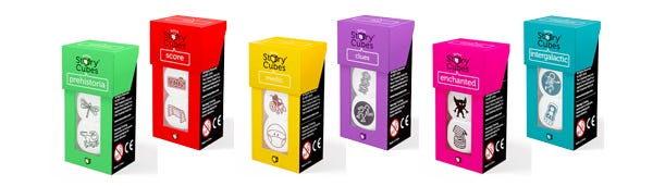 rorys story cubes - add-on sets